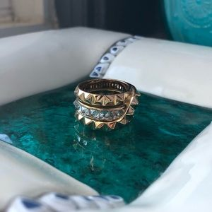 Henri Bendel stack rings